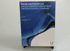 Adobe Photoshop CS3 full retail sealed 13102479 OS X genuine