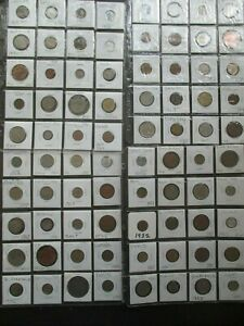 80 World Coin Lot - All in 2 X 2 Coin Flips and Protective Pages.#6