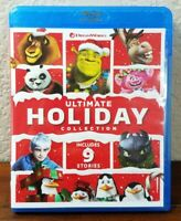DreamWorks Ultimate Holiday Collection (Blu-ray, 2019) Includes 9 Stories & more