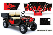 AMR Racing EZ Go Workhorse Wrap Golf Cart Decals Graphic Kit 1996-2003 DFLAME RK