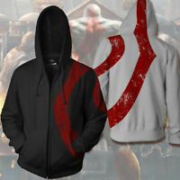 God of War: Ghost of Sparta Kratos Hoodie Sweatshirts Cosplay Hooded Sweater