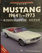 Mustang 1964 1/2 - 1973 Restoration Guide by Corcoran & Davis 2nd edition