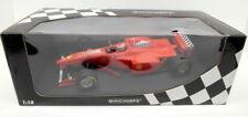 Voitures de courses miniatures argentés Ferrari 1:18
