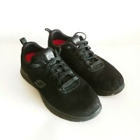 Skechers Men's Flex Advantage Bendon Slip Resistant Athletic Black Shoes  Sz 10