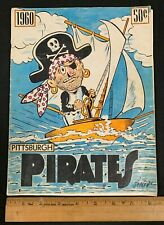 1960 PITTSBURGH PIRATES OFFICIAL BASEBALL TEAM YEARBOOK