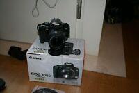 Fotocamera Canon EOS 400D reflex digitale + obiettivo 18-55 + scatola + memoria
