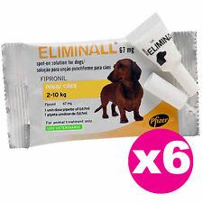 ELIMINALL ANTIPARASITE - CHIENS PETITS 2-10KG (Générique FRONTLINE) - 6 PIPETTES