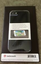 TWELVESOUTH SURFACEPAD IPHONE 5 ULTRA SLIM BLACK LEATHER CASE COVER 12-1229 NEW!