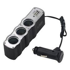 USB Triple Bucket Universal Kfz Lade Adapter Verteiler für Zigarettenanzünder