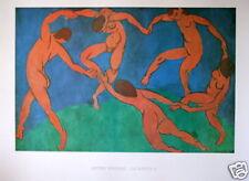 "Henri MATISSE - Affiche d'Art   -   ""La danse II, 1910"""