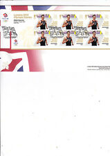 GB 2012 Olympic Games Gold Medal MS Alistair Brownlee Triathlon  RM FDC