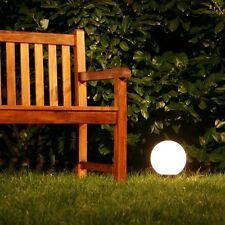 Boule lumineuse Lampe extérieure Luminaire jardin globe éclairant Ø 20 cm 36787