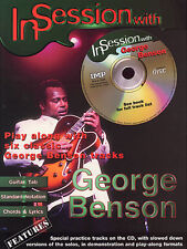 In Session With George Benson Guitar Music Book TAB CD LEARN BREEZIN LADY SONGS