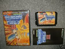 Thunder Force III Sega Megadrive Japan