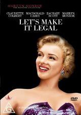 LET'S MAKE IT LEGAL DVD R4 Marilyn Monroe