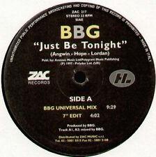 BBG - Just Be Tonight - Zac