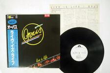 OPUS LIVE IS LIFE POLYDOR 28MM 0454 Japan OBI PROMO VINYL LP