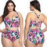 Donna Bikini Vita Alta Set Taglie Forti Push Up Costumi da Bagno