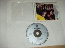 NM+ 1988 1st Pr RARE IMPORT Soft Cell Tainted Love Maxi Single CD Vertigo TESTED