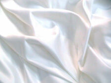 Duchess Satin White Bridal Wedding Dress Fabric 150cm Wide SOLD PER METRE