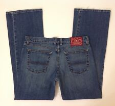Lucky Brand Blue Jeans Mid Rise Flare Regular Length Size 14 / 32 - W 33 x L 32