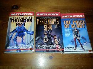 Battletech Roman englisch grey death Trilogie Price/Thunder/ Mercenary f#LB632JJ