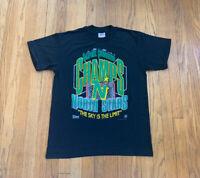 Minnesota North Stars Vintage 90's Salem Single Stitch Shirt Mens L NWOT MN WILD