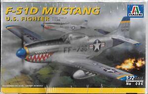 Italeri Korean War,  F-51D Mustang in 1/72 086