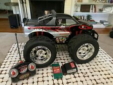 Snake Bite Original RC Black Monster Truck Car Fast Lane TESTED w Sound 4WD