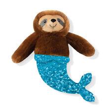 Fringe Studio Mer Sloth Mermaid Sloth Plush Squeaker Dog Toy
