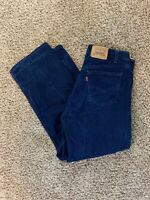 vtg 90's LEVI's 562 USA made orange tab jeans 34 x 28 tag Blue loose faded