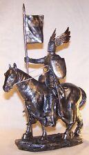 Statuette Chevalier sur son destrier  - Statuette moyen age