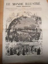 le monde illustré N 917 année 1874 ( ref 18 )