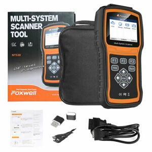 FOXWELL NT530 For GM OBD2 DIAGNOSTIC SCANNER TOOL AIRBAG ABS ENGINE RESET NT510