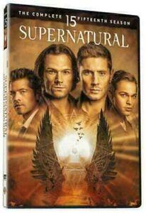 SUPERNATURAL 145 DIE KOMPLETTE DVD VIERZEHNTE SEASON STAFFEL 15 DEUTSCH