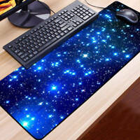 Large Galaxy Gaming Mouse Pad Mat for PC Laptop Macbook Anti-Slip 60CM*30CM @.