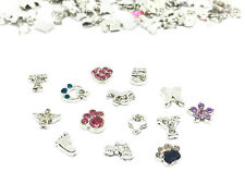 5 Stück Floating Charms Mix Einleger Living Memory Strass Statement