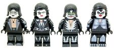 Custom Designed Minifigures American Rock Band kiss Printed On LEGO Parts