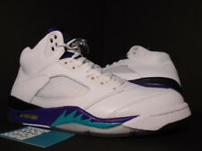 2013 Nike Air Jordan V 5 Retro WHITE EMERALD GREEN GRAPE ICE BLACK 136027-108 11