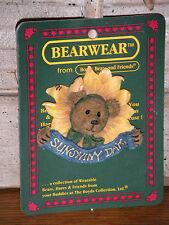 Boyds Bears 2000 ~Posey B. Goodcheer.Lookin' Up!~ Bearwear Pin Style# 26154