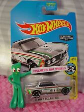 2017 Hot Wheels '73 BMW 3.0 CSL RACE CAR☆Walmart Exclusive ZAMAC; Castrol 7☆
