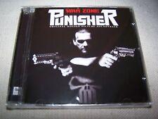 PUNISHER WAR ZONE CD SOUNDTRACK *NEW* ROB ZOMBIE SLAYER SLIPKNOT SENSES FAIL