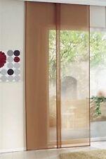 Cortina de Panel 57x225 cortina cortinas paneles japoneses Terracota