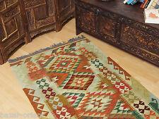 195x98 cm orient Teppich Afghan Turkmen Nomaden Planzenfarbe kelim kilim No:31