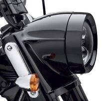 Harley-Davidson  Headlamp Trim Ring  Gloss Black Touring Softail OEM Original