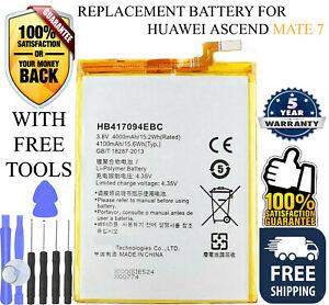 OEM Genuine Original HB417094EBC Battery 4100mAh for Huawei Ascend Mate 7 +Tools