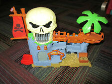 MATCHBOX BURIED TREASURE PIRATE PLAYSET, LIGHTS & SOUNDS, GUC INCOMPLETE