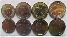 LIBYA set of 4 coins UNC