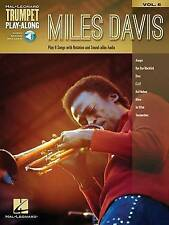 Trumpet Play-Along: Miles Davis: Volume 6 by Hal Leonard Corporation (Mixed...