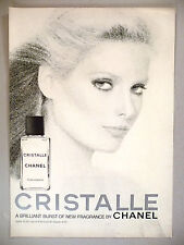Cristalle Perfume by Chanel PRINT AD - 1977